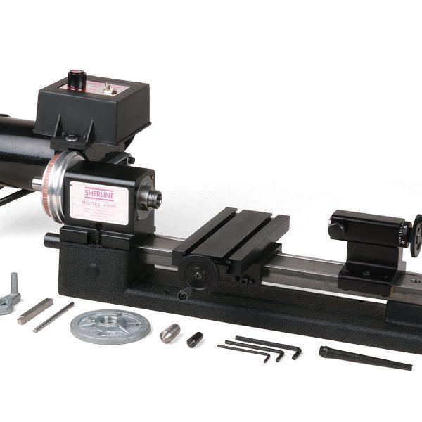 "4000 (4100)—3.5"" x 8"" lathe with standard handwheels"