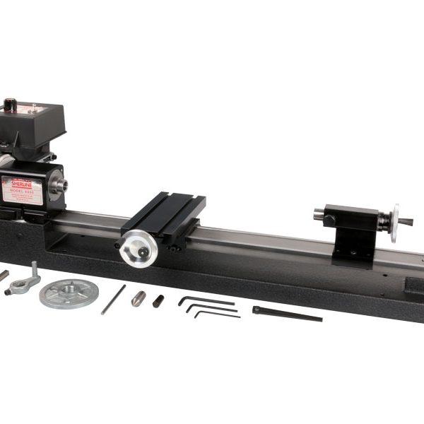 "4400 (4410)—3.5"" x 17"" lathe with adjustable zero handwheels and rocker tool post"