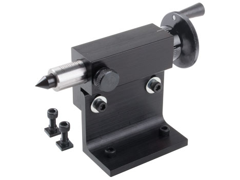 """Adjustable tailstock for 12/"""" rotary tables"""