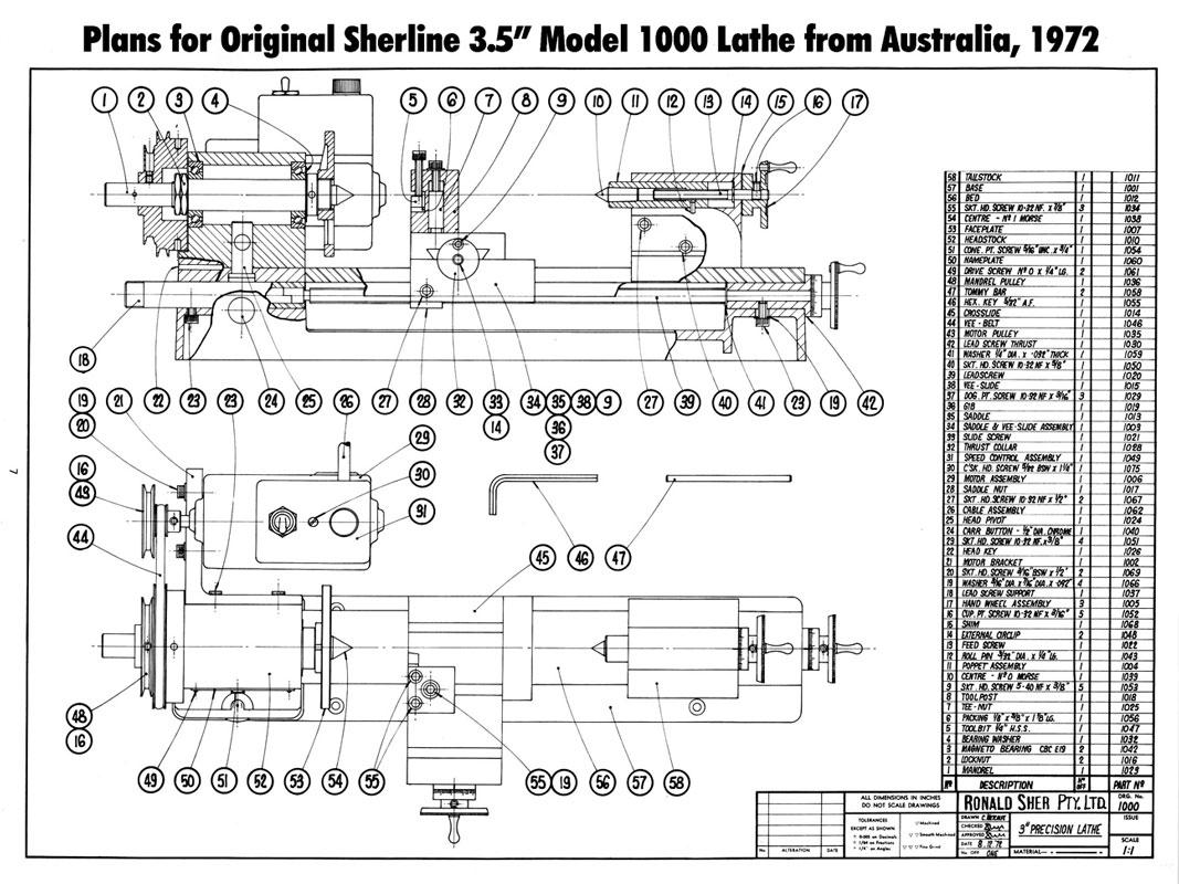 sherline history  u2013 sherline products