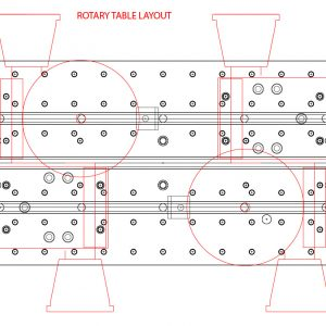 Rotary Table Layout