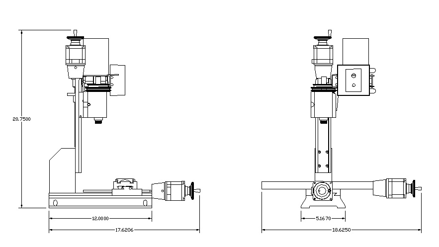 Standard Dimensions of Sherline Tools – Sherline Products
