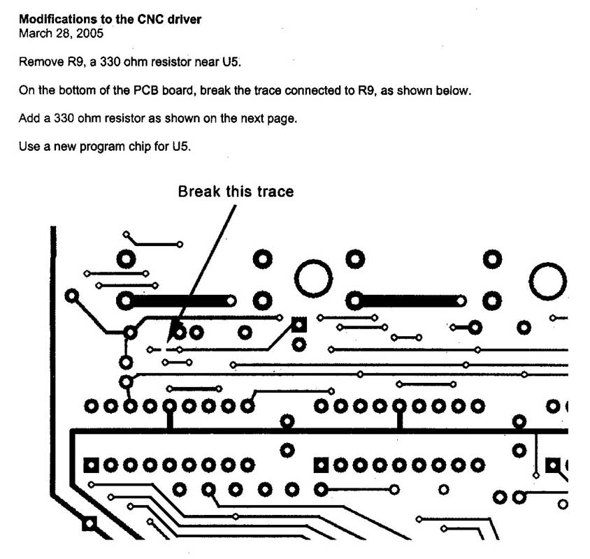 Sherline CNC Driver Board Circuit Update – Sherline Products