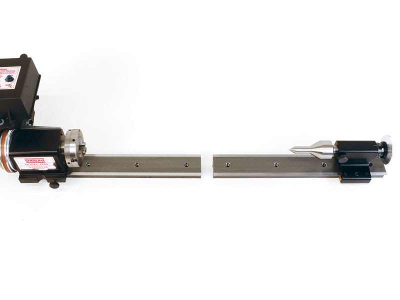 Split Bed Pool Cue Lathe Sherline Products